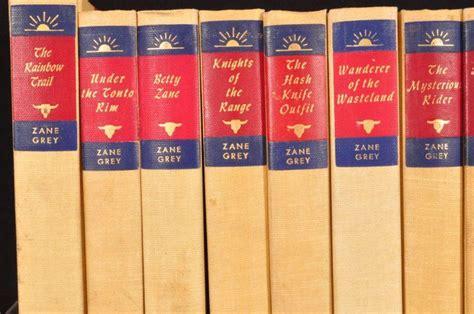 Zane Grey Books Roy Rogers Zane Grey Book Collection 63 Books Rr