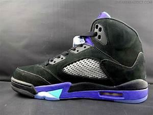 Air Jordan Retro 5 - Black Grape | Sole Collector