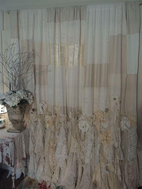 vintage lace curtains panels curtain handmade