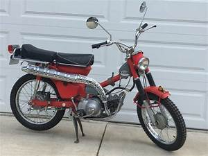 No Reserve  1969 Honda Trail Ct90 S U0026k Suitcase Cycle For