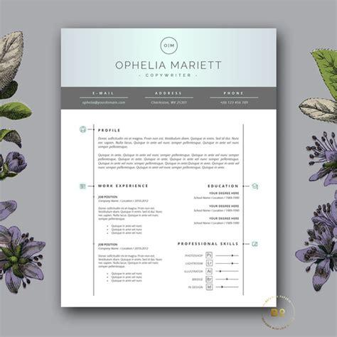 modern resume template cv design resume templates on