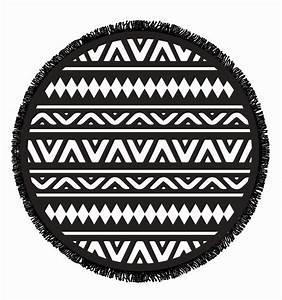 Serviette De Plage Ronde Coton : serviette ronde coton ikaria ~ Teatrodelosmanantiales.com Idées de Décoration