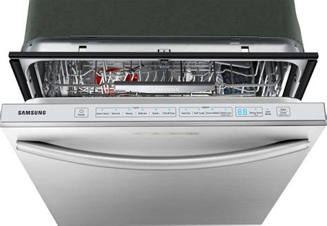 Samsung DW80F800UWS Fully Integrated Dishwasher with 15