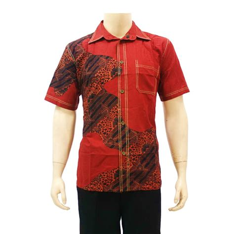 pakaian baju pakaian kemeja batik pria terbaru