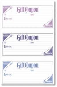 Word Coupon Templates Printable Free