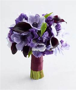 Purple Wedding Flowers - Real Simple
