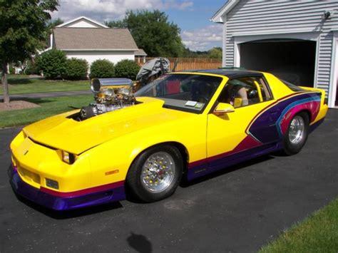 camaro prostreet blown  custom paint