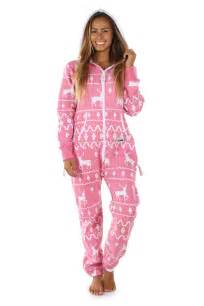 plus size womens costumes women 39 s pink christmas jumpsuit tipsy elves boutiqify