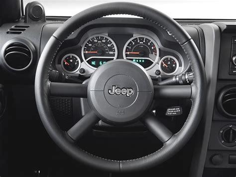 jeep rubicon steering wheel 2007 jeep wrangler road test review automobile magazine