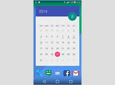 [Android] Get over 70 beautiful calendar widget themes