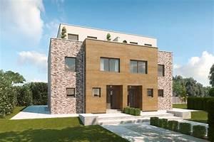 Mehrfamilienhaus Bauen Kosten Qm : doppelhaus mit 3 etagen penthouse etage mit ~ Lizthompson.info Haus und Dekorationen
