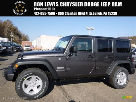2017 granite metallic jeep wrangler unlimited