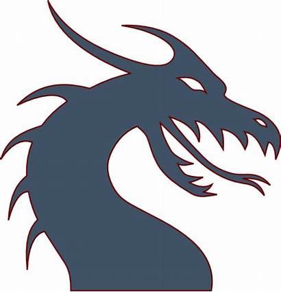 Dragon Clip Clipart Vector Clker Domain