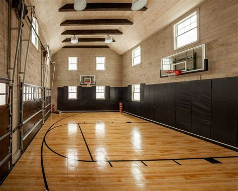 wall lights for gym brilliant indoor home basketball court with