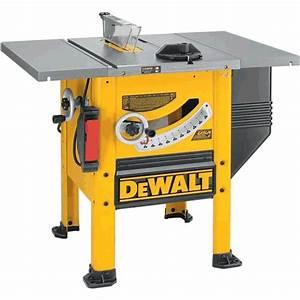 """DeWalt DW746 Heavy Duty 10"""" Woodworker's Table Saw (240"""