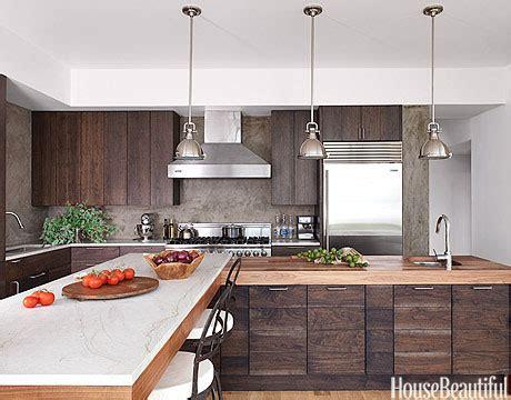 Modern Wood Kitchen  Walnut Kitchen Cabinets