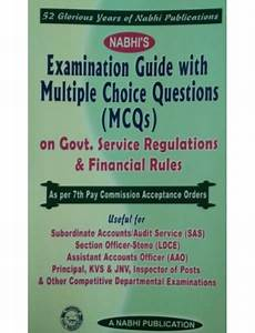 Examination Guide With Multiple Choice Questions