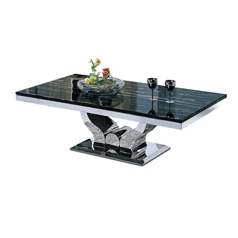 canape 3 places 2 places table basse design en inox massif et marbre ou verre