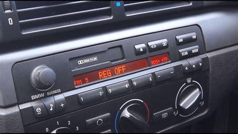 bmw e46 radio bmw e46 3 series how to remove radio