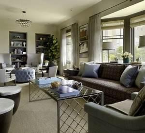 Große Couch In Kleinem Raum : gem tliches wohnzimmer einrichten gro e wohnfl chen ~ Lizthompson.info Haus und Dekorationen