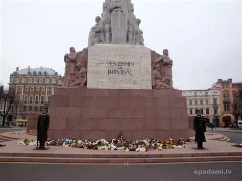 Brīvības piemineklis - latviešu tautas brīvības simbols ...