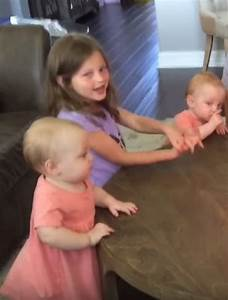 Girls Have Priceless Reaction When Dad Blows Out The Candles