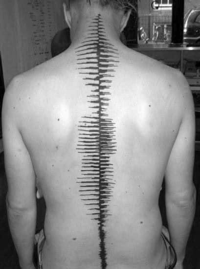 30 Soundwave Tattoo Designs For Men - Acoustic Ink Ideas