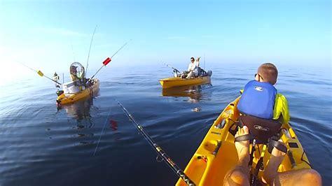fishing kayak florida offshore destin gopro hobie