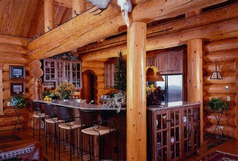 Home Bar Canada by Log Home Photo Gallery American Log Crafters