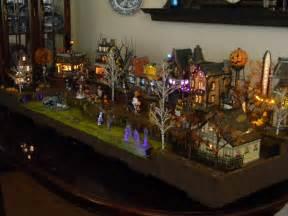 department 56 display platform halloween scene the
