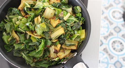 cuisiner le vert des blettes salade de blettes a l 39 indienne my beautiful dinner