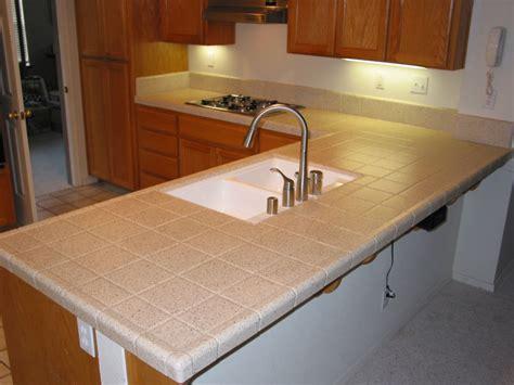 tile countertop kitchen tile kitchen countertops in modern house