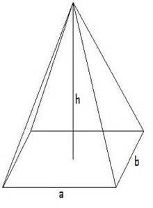 pyramide grundfläche volumenberechnung