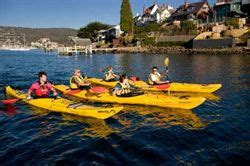 Fishing Boat Hire Hobart by Tour The Hobart Kayak Tour Australia Book Online
