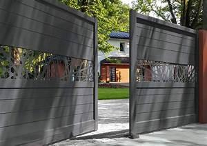 Portail Sur Mesure : installation de portails et portillons sur mesure solabaie ~ Melissatoandfro.com Idées de Décoration