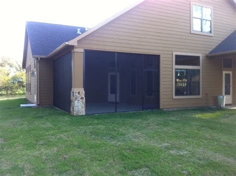 screened patio walls in houston friendswood lone