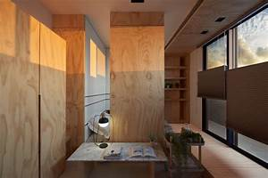 33 Square Meters Compact House with Innovative Vertical ...