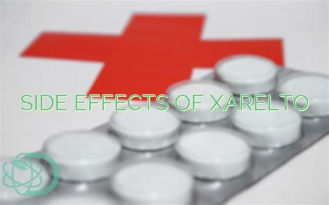 side effects  xarelto drugeducation