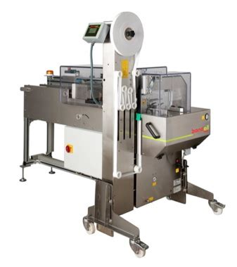 bandall automated stacking  banding unit canadian packaging