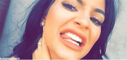 Kylie Jenner Cringe Tongue Tyga Gifs Massage
