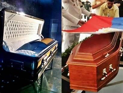 Marcos Casket Coffin Bronze Simple Buried Wood