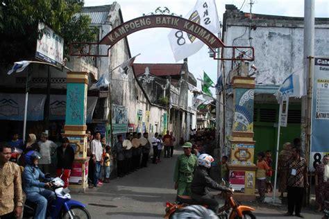 kampung batik kauman bersejarah ikonik   digital