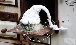 Weihnachtsdekoration Für Den Garten : wichtel aus beton diy living green ~ Michelbontemps.com Haus und Dekorationen