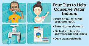 Celebrate Water Conservation Month By Saving Water Indoors