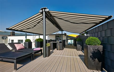 awnings for open spaces markilux