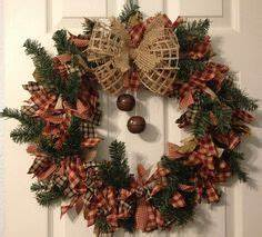 1000 ideas about Rag Wreaths on Pinterest