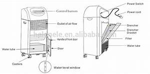 Water Cooler Air Conditioner Fan Home Mini Portable Air