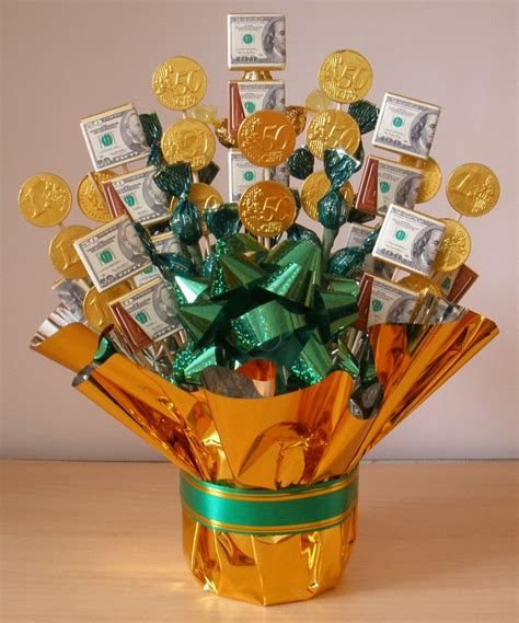 tasty money candy bouquet fun family crafts