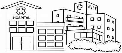 Hospital Coloring Cartoon Colorier Coloringpagesfortoddlers Enregistree Depuis