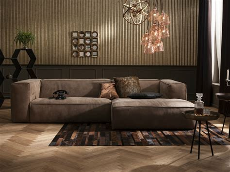 Leather Sofa Mocca Collection By Kare-design